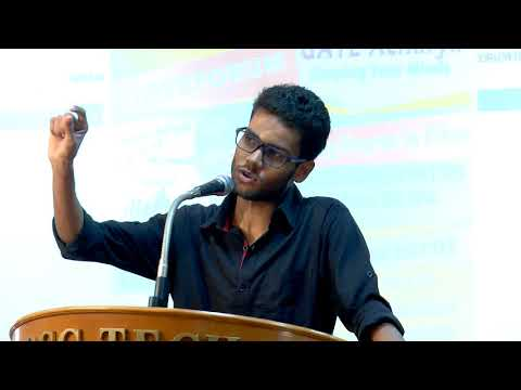 GATE Acharya 2017 Motivational Speech _subham agarwal_GATEFORUM Alumni cum Trainer