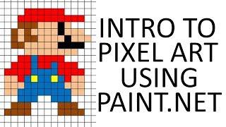 Intro to Pixel Art in Paint.net