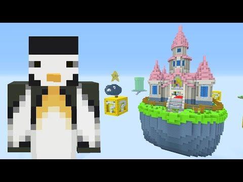 Minecraft Xbox - Sky Wars - Mario
