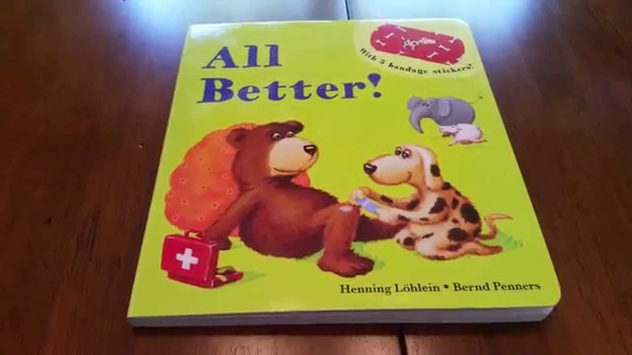 Usborne Books and More All Better  YouTube