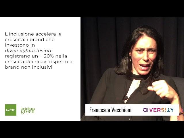 Quanto vale l'inclusione  per le aziende? - Francesca Vecchioni (Diversity)