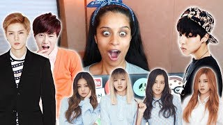 Video The Time I React To K-Pop Videos (Day 933) download MP3, 3GP, MP4, WEBM, AVI, FLV Agustus 2017