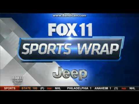 """KTTV Fox 11 """"Sports Wrap"""" open January 1, 2017"""