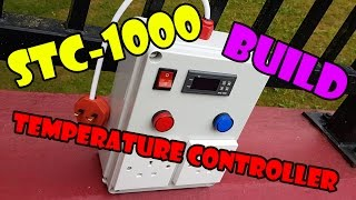 stc 1000 temperature controller box build
