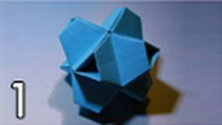 Origami Truncated Stellated Octahedron (folding Instructions) ~part One~