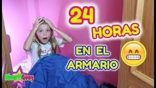 24 HORAS EN EL ARMARIO!! PASO UN DÍA ENTERO EN EL CLOSET!! DANIELA DIVERTIGUAY