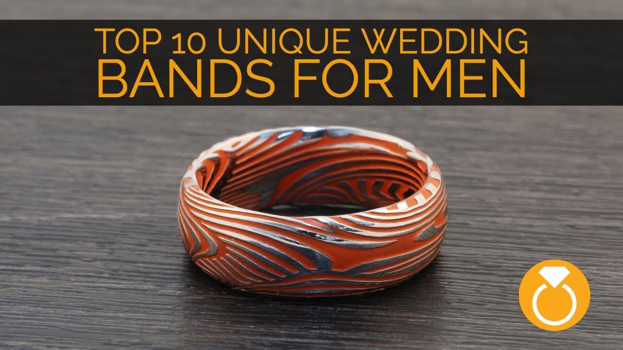 Mens Unique Wedding Bands.Top 10 Unique Mens Wedding Bands
