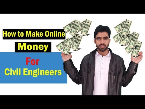 How to make Online Money ( For Civil Engineers )