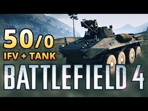 [BF4] BTR-90 IFV + T-90A Tank 50-0 Game in Zavod 311