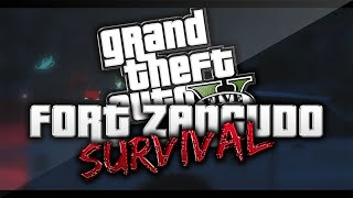 THE FORT ZANCUDO SURVIVAL (GTA 5 PC Funny Moments)