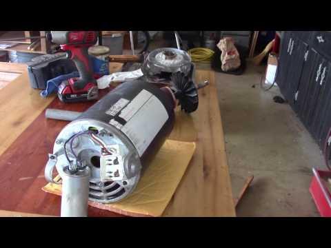 Pool Motor Replacing The Bearings