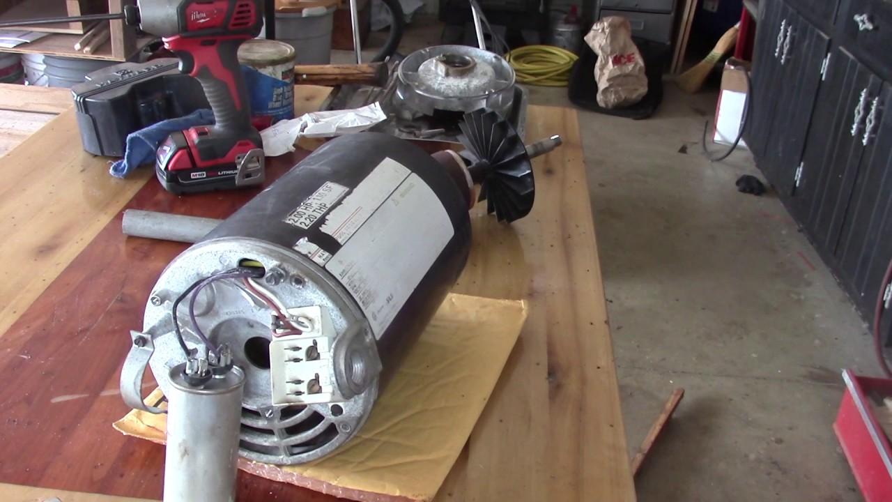 Pool motor replacing the bearings youtube Pool motor bearings