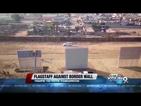 Flagstaff takes stand against Trump's border wall
