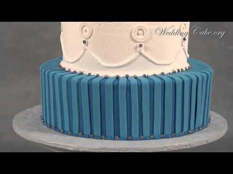 blue-wedding-cakes- -white-wedding-cakes- -elizabeth-and-michael
