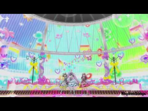 HD PriPara   Dressing Pafe「CHANGE! MY WORLD」& SoLaMi Smile  「Happy Pa Lucky」  EPISODE 22