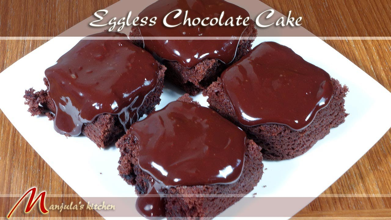 Eggless chocolate cake recipe by manjula youtube eggless chocolate cake recipe by manjula forumfinder Images