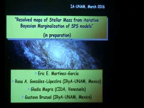 """Resolved maps of stellar mass from iterative Bayesian marginalization..."" 14/03/2016"