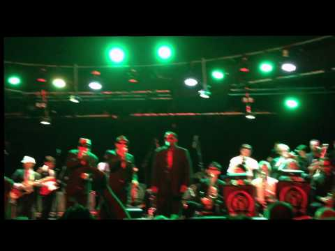 Melbourne Ska Orchestra - A message to you rudy at The HI-FI Sydney