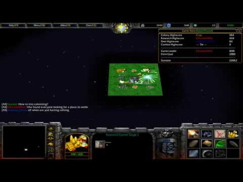 Warcraft 3 TFT - Space Command #1
