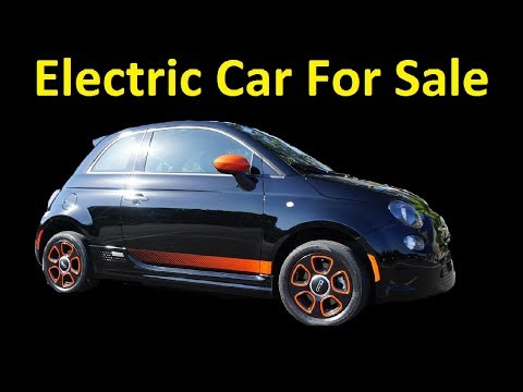 Fiat 500e Electric Car For Sale No Gas Free HOV ~ Video Review