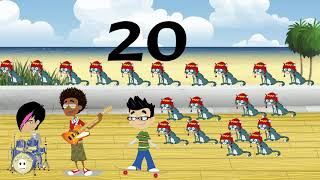 Rad Kids Music...Count by 2's to 20 with Gilbert Rocks