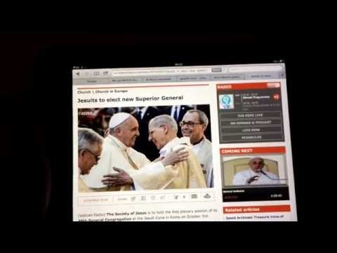 NWO: Jesuits electing a new superior general