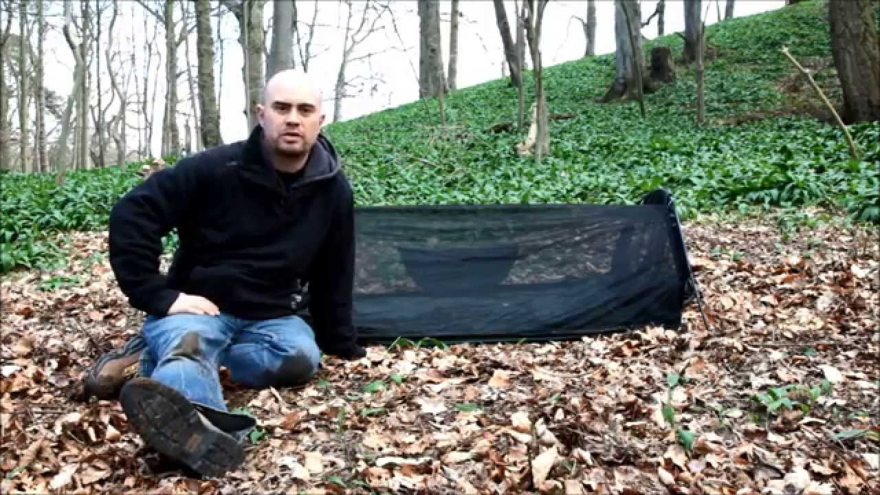 Using The Dd Superlight Jungle Hammock On The Ground Youtube