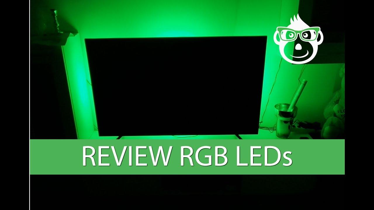 TV Hintergrundbeleuchtung Test - sind RGB Bänder dazu geeignet? Jetzt im Video!