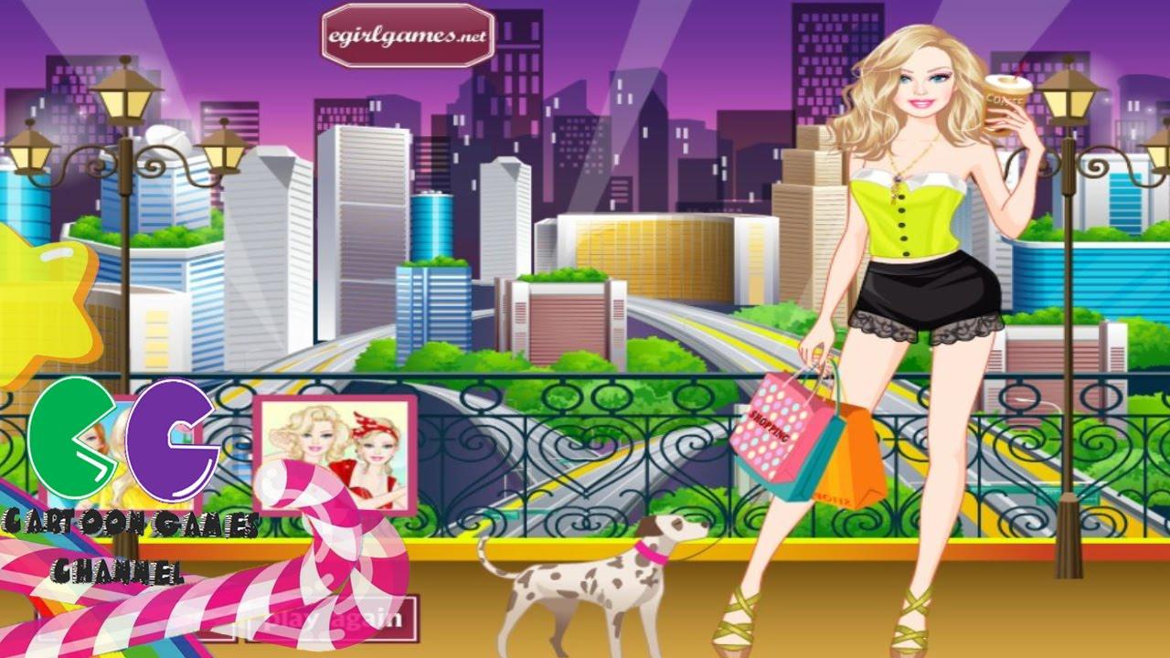 New Yorker Barbie Estilo Juegos De Moda Barbie