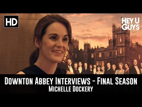 Michelle Dockery Exclusive Interview - Downton Abbey