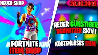 🛒Kostenloses ITEM Fortnite SHOP von HEUTE 26.07 🛒Heutiger Fortnite Daily Item Shop| Technicktendo