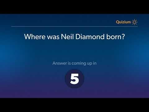 Where was Neil Diamond born?   Neil Diamond Quiz