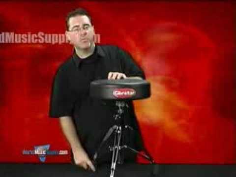 Gibraltar 9608 Pro Round Drum Stool