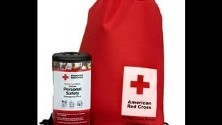 Personal emergency preparedness kit-From the Red Cross
