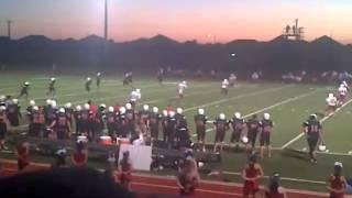 Huge Football Hit - 8th Grade