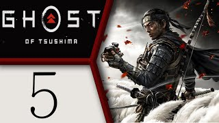 Ghost of Tsushima playthrough pt5 - First Shrine and Hot Springs Fun