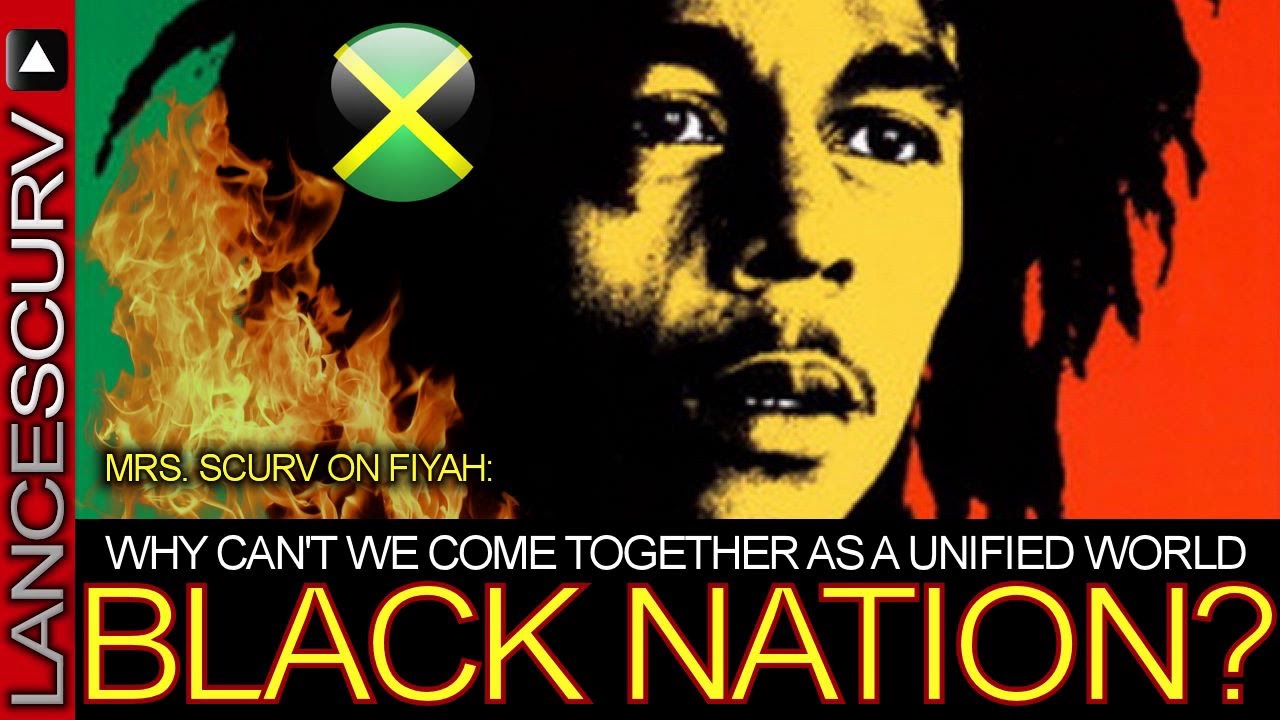 """Mrs. Scurv: """"WHY CAN'T WE COME TOGETHER AS A UNIFIED WORLD BLACK NATION?"""" - The Lance"""