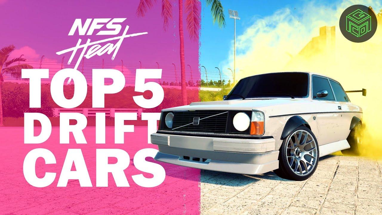 Top 5 Drift Cars In Need For Speed Heat Nfs Heat Best Drift Cars Youtube