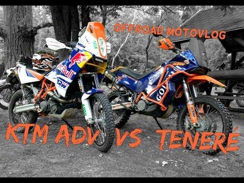 KTM vs Yamaha Teneré   OFFROAD Vlog   Hun & Eng subs