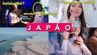 CHEGUEI NO JAPÃO!! MUITAS HORAS DE VOO + HOTEL ROBÔ    Harumy Nakanishi