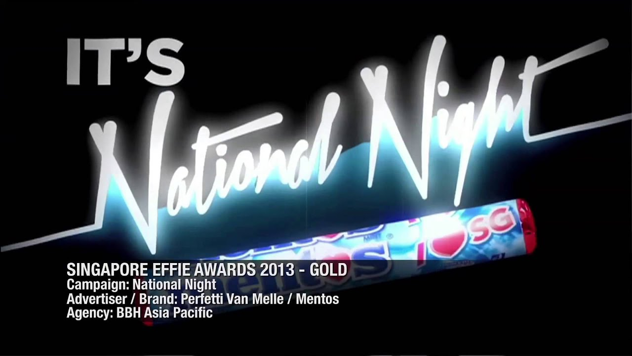 Effie Singapore Awards 2013 Gold - Mentos - YouTube