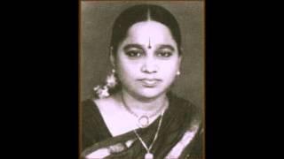 Vidushi Srirangam Gopalaratnam Chakkani Raja Kharaharapriya, 80s