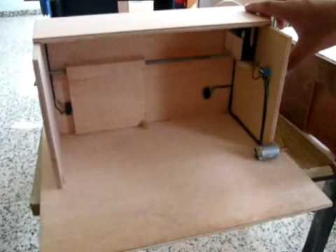 Proyecto puerta garaje youtube for Como hacer una puerta corrediza casera