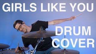 Download Video Girls Like You - Drum Cover - Maroon 5 MP3 3GP MP4