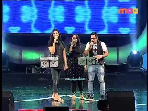Maa  Awards  - Ranjith & Geetamadhuri Performance to Ey Raja from Brindavanam