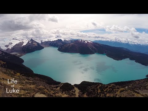Beautiful British Columbia Aerial Stock Video