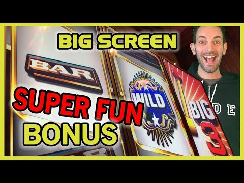 ➡BIG 3 HYPER SONIC 😮 #IT Slot Machine ✦ Talk about a BIG Screen! ✦ Brian Christopher Slots