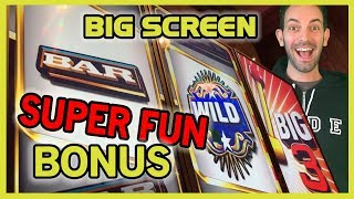 ➡BIG 3 HYPER SONIC 😮 #IT Slot Machine ✦ Talk about a BIG Screen! ✦ Brian Christopher Slots