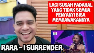 Download lagu [KUPAS] LAGU SUSAH | RARA - I SURRENDER | Reaction