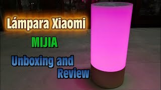 Lampara RGBW Xiaomi Mijia cortesia de Lightinthebox - Unboxing and Review